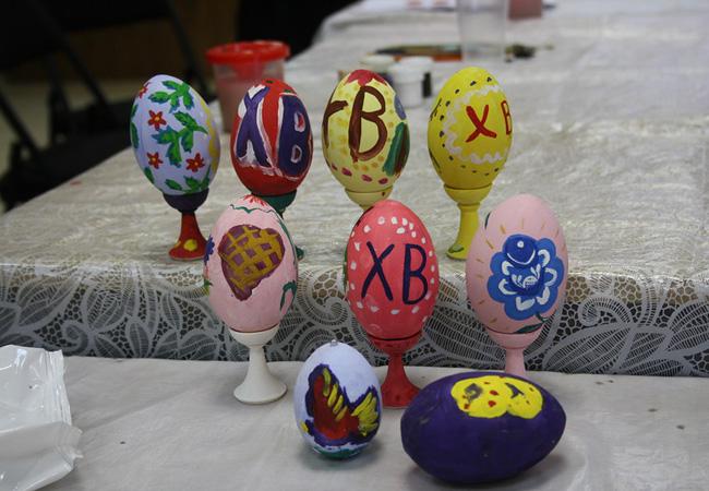 Мастер-классы по росписи Пасхальных яиц