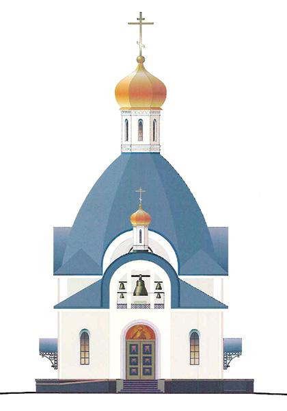 Проект храма Святых Царственных Страстотерпцев
