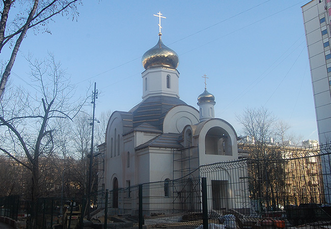 Online-пожертвование на строительство храма