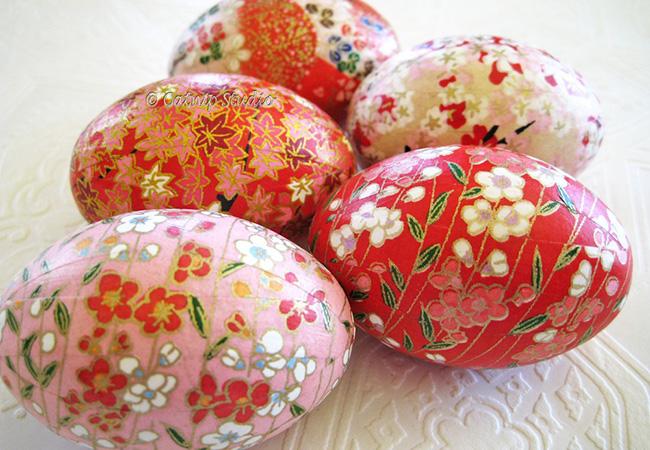Мастер-класс по украшению пасхальных яиц