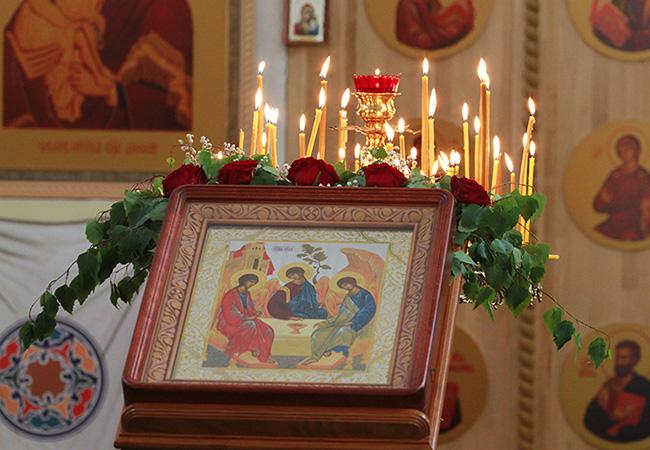 Праздник Святой Троицы. Фото