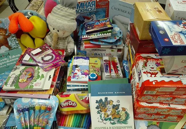 Благотворительная акция по сбору подарков на Рождество Христово
