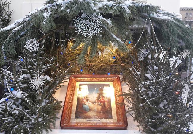 Храм снова открыл свои двери на Рождество Христово