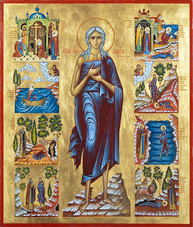 29 марта — «стояние» прп. Марии Египетской