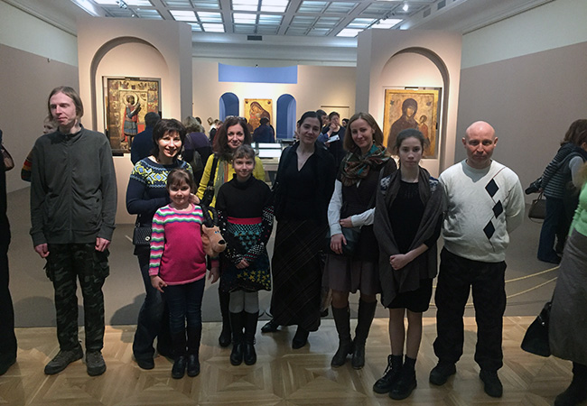 Поход в Третьяковскую галерею