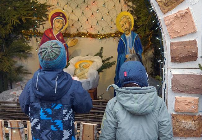 Рождество Христово в храме на Войковской