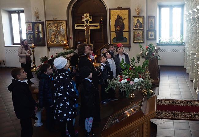 Экскурсия по храму для детей