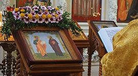 Память первоверховных апостолов Петра и Павла