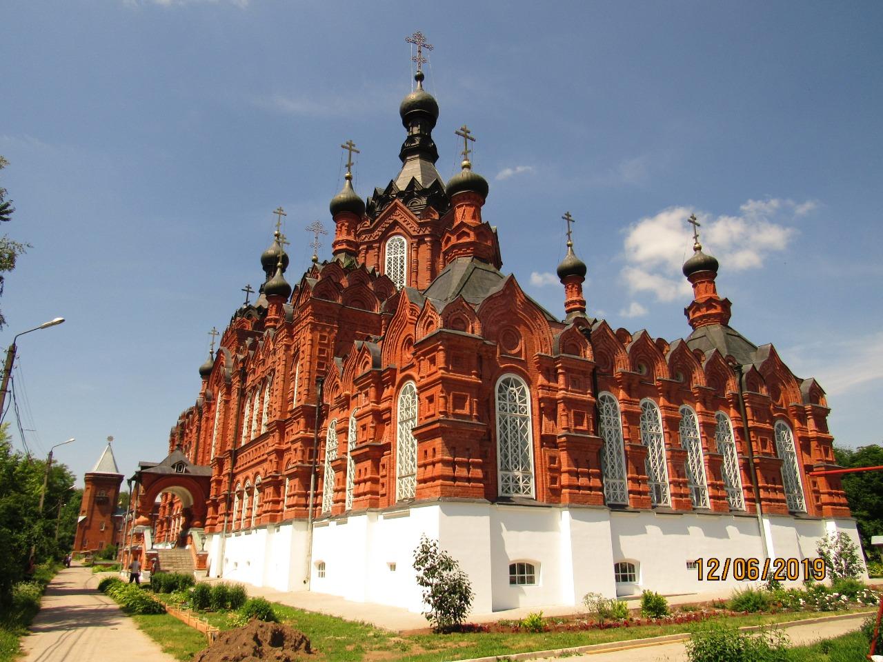 Поездка в Шамординский монастырь (2019)