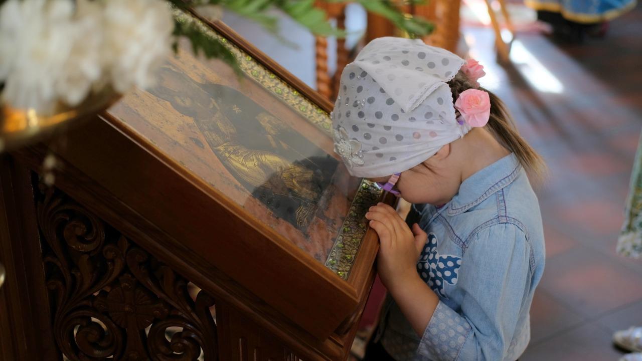 Литургия и молебен перед началом учебного года 1 сентября (2019)
