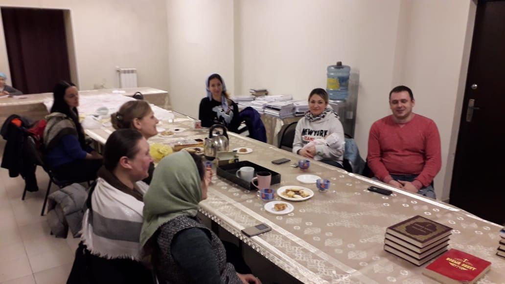 Встреча молодежного клуба 25 октября (2019)