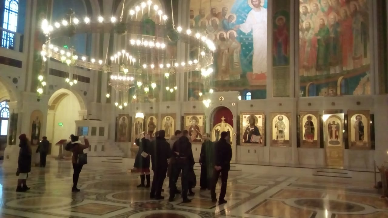 Экскурсия в Сретенский монастырь