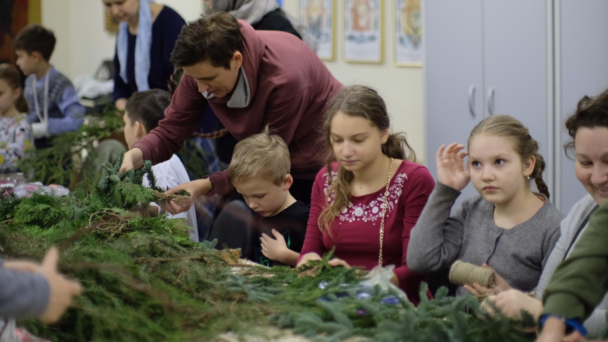 Рождественский мастер-класс