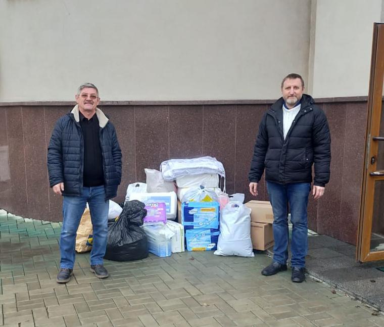 Благотворительная помощь жителям Донецкой республики