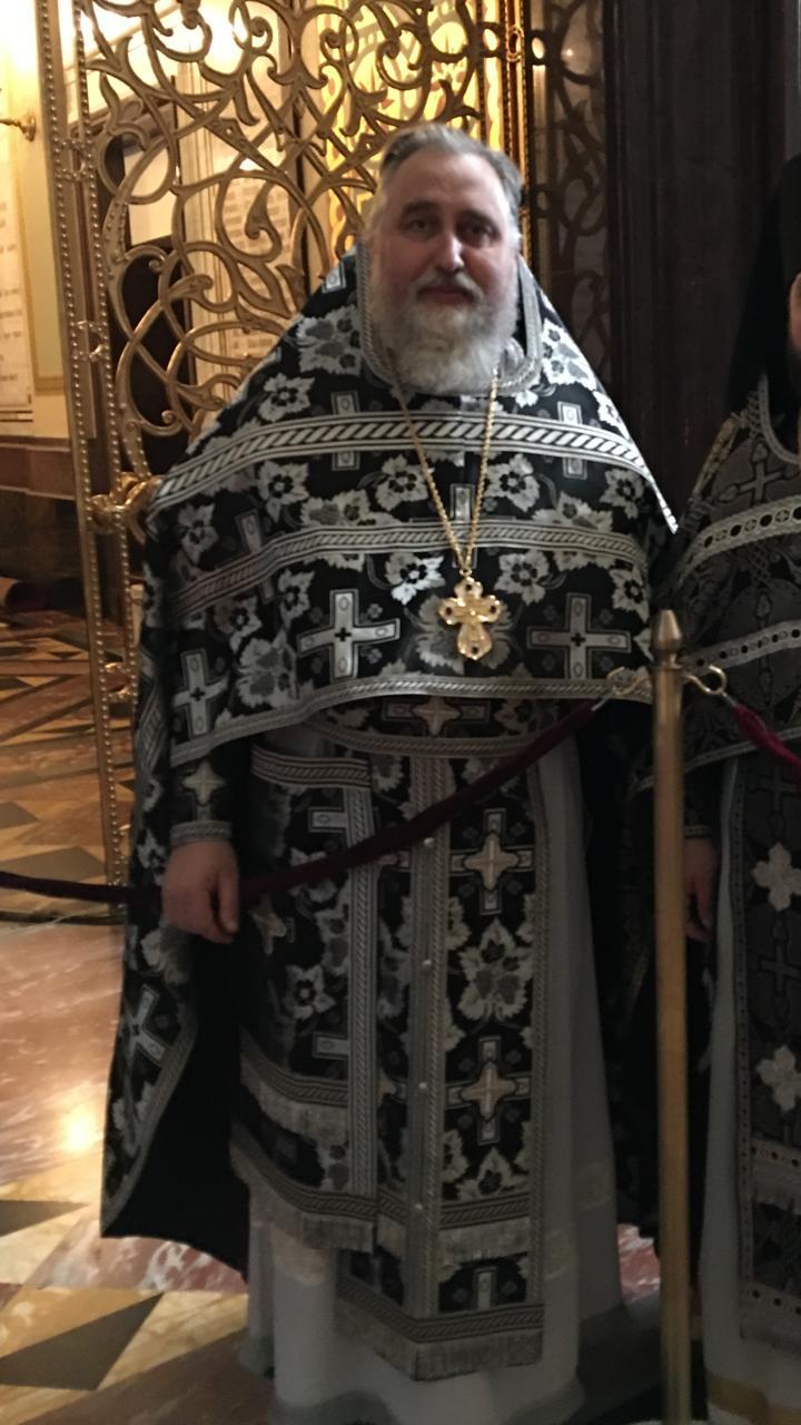 Протоиерей Сергий Стрекалин награжден по указу Святейшего Патриарха Кирилла