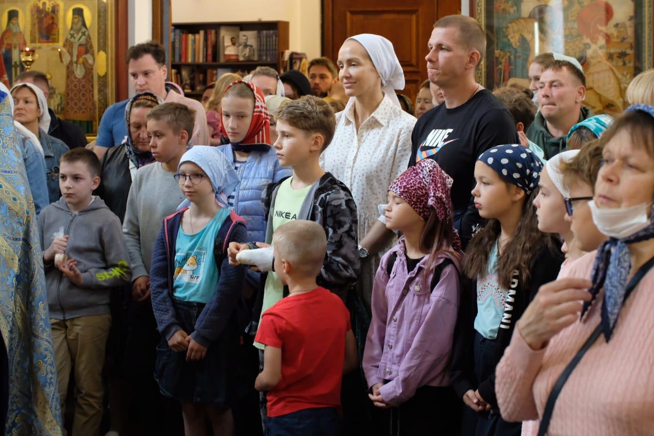Водосвятий молебен на начало учебного года (2021)