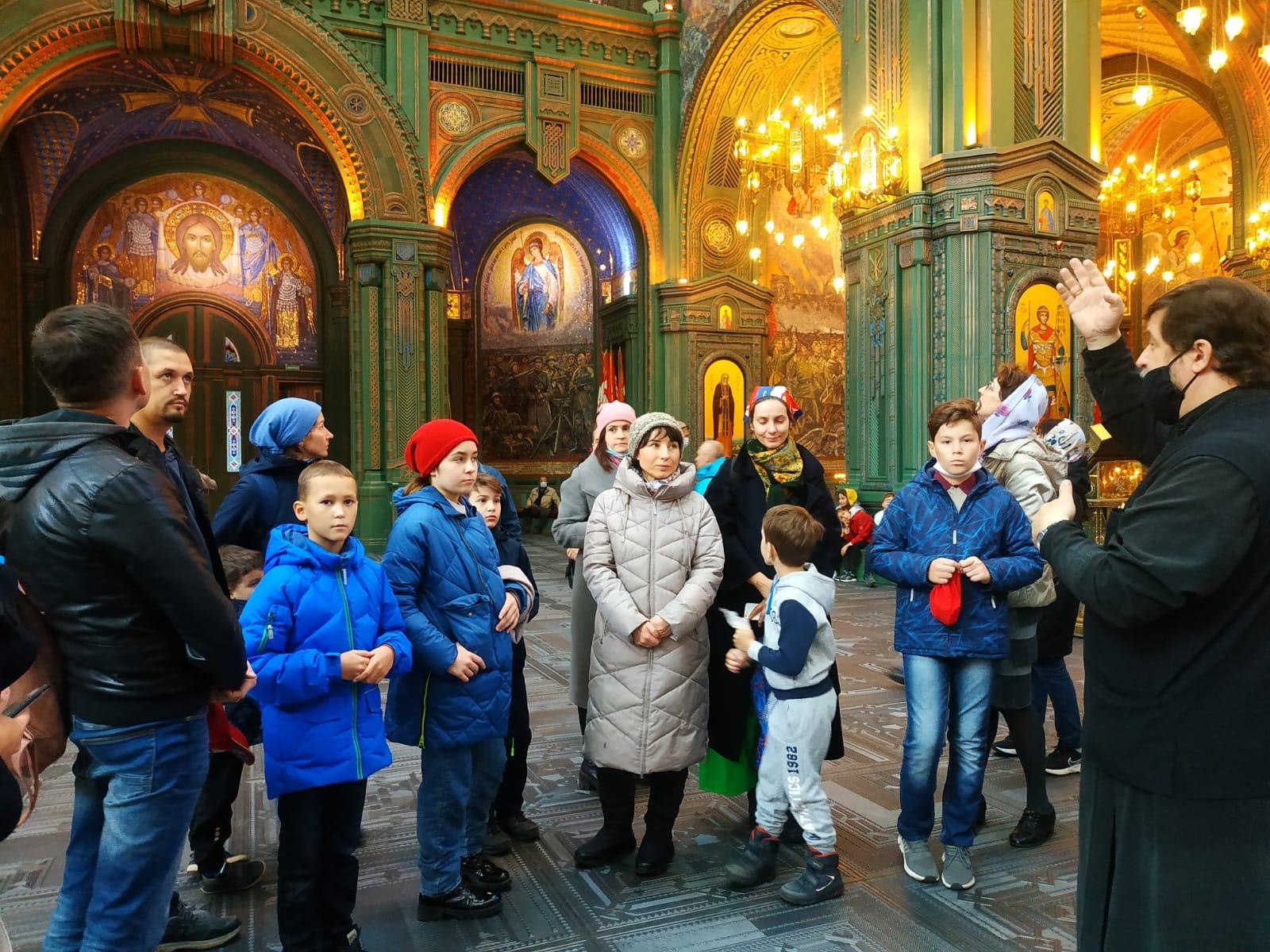 Экскурсия в главный храм Вооружённых Сил России