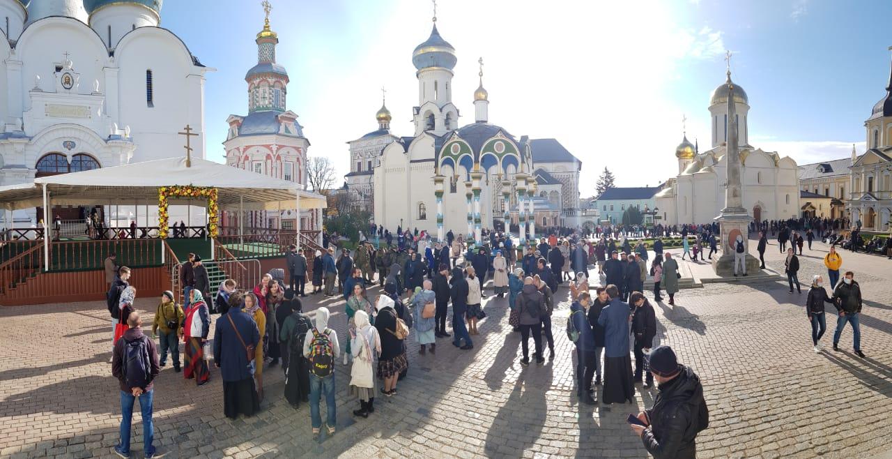 Общевикариатская паломническая поездка в Троице-Сергиеву Лавру
