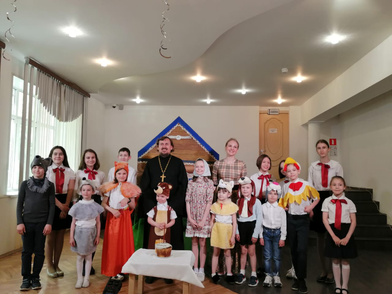 Пасхальный концерт воскресной школы (2021)